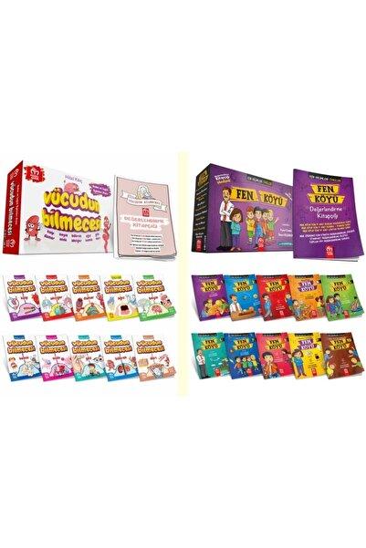 Model Çocuk Yayınları Model Yayınları Vücudun Bilmecesi Ve Fen Köyü Hikaye Seti 2.ve 3.sınıf Seviyesi