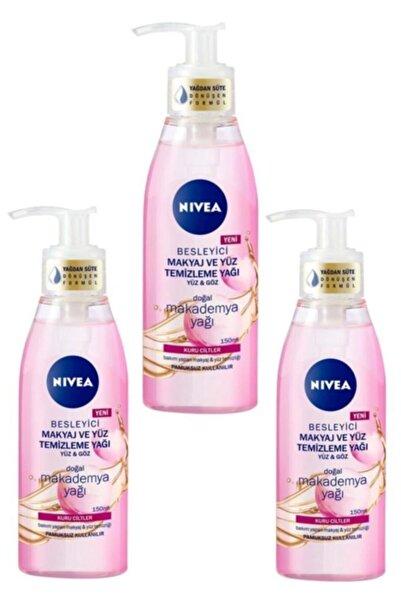 Nivea 3'lü Kuru Ciltler Için Besleyici Makyaj Ve Yüz Temizleme Yağı 150 ml