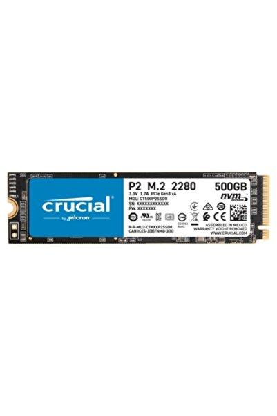 Crucial P2 Ct500p2ssd8 500 Gb 2300-940 Mb/s Nvme Pcıe M.2 Ssd