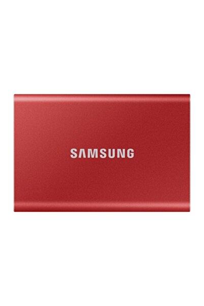 Samsung Taşınabilir Ssd T7 Usb 3.2 Gen 2 1tb (Kırmızı)