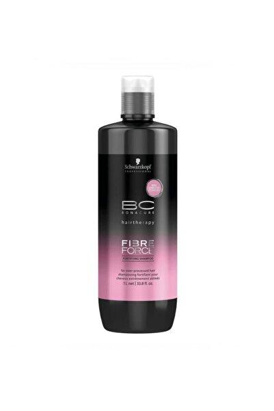 Bonacure Işlem Görmüş Saçlar Için Bakım Şampuanı 1000 ml - Fibre Force Keratin Shampoo 4045787347791