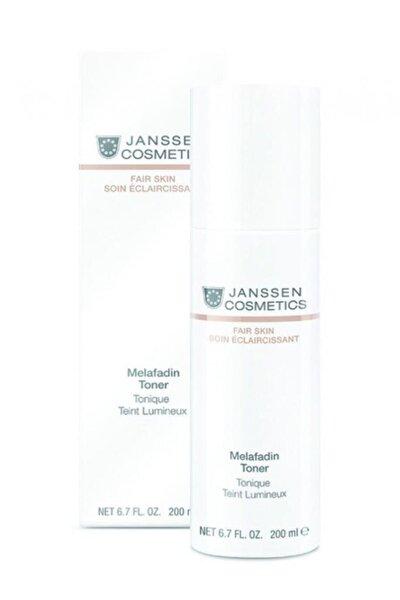 Janssen Cosmetics Melafadin Toner Melanin Düzenleyici Tonik 200 ml