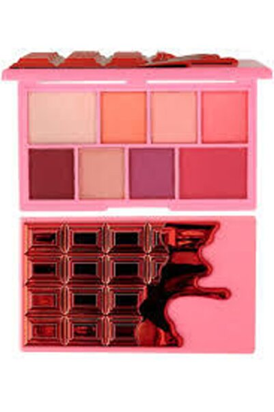 Revolution I Heart - Mini Chocolate Eyeshadow Palette - Cherry