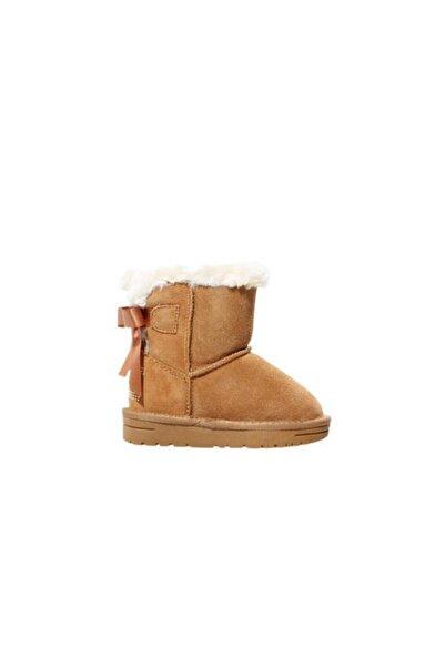 Tommy Hilfiger Camel Fur Boot