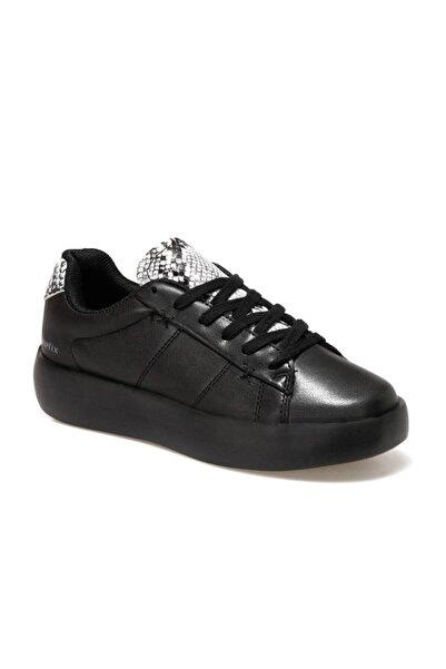 Kinetix Kadın Siyah Lılyse Havuz Taban Sneaker