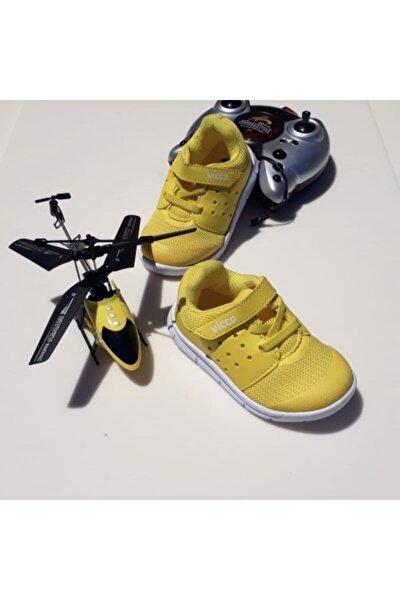 Vicco 190 Sarı Ortopedik Unisex Spor Ayakkabı