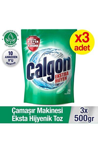 Calgon Çamaşır Makinesi Hijyenik Kir ve Kireç Önleyici 500 gr Toz 3'lü Set