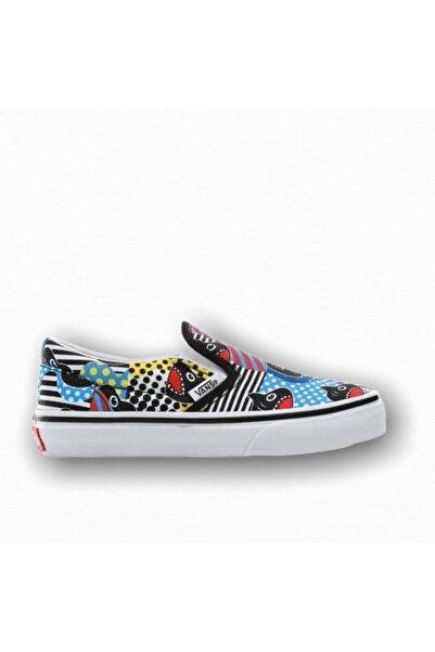 Vans Classic Slip-On (Shark Week) Unisex Çocuk Sneaker