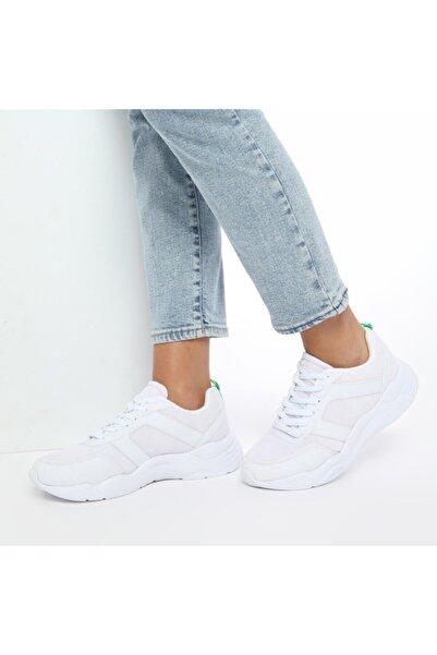 Kinetix Kadın Beyaz Sneaker ANCHOR