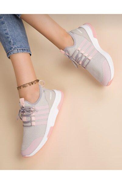 Lindelöf Kadın Buz-pudra Sneaker 52517