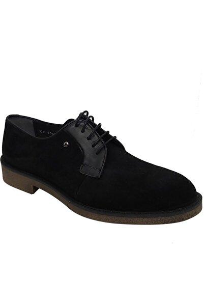 Pierre Cardin Erkek Siyah Hakiki Deri Neolit Taban Klasik Ayakkabı