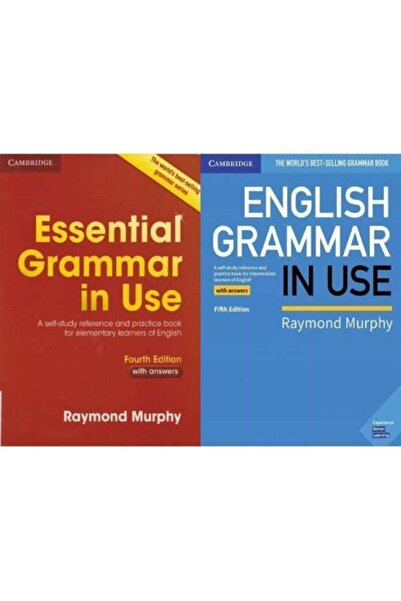 Cambridge University Press Essential Grammar In Use + English Grammar In Use 5th With Cd's
