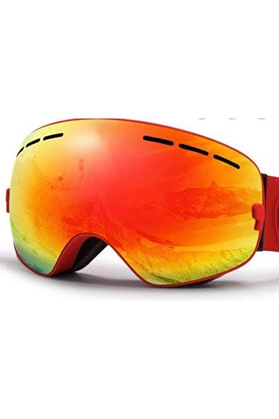QUISVIKER Turuncu Kayak Gözlüğü