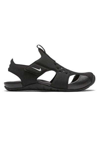 Nike Sunray Protect 2 Çocuk Siyah Yürüyüş Sandalet 943827 001