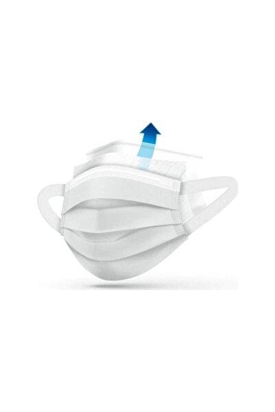 SmartFox Yeni Nesil Medikal Maske - Yumuşak Elastik Kulaklı-50 Adet -beyaz