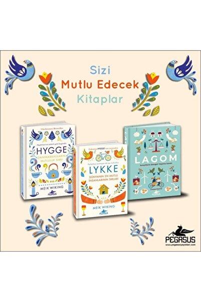 Pegasus Yayınları Hygge + Lykke + Lagom Takım Set (3 Kitap)