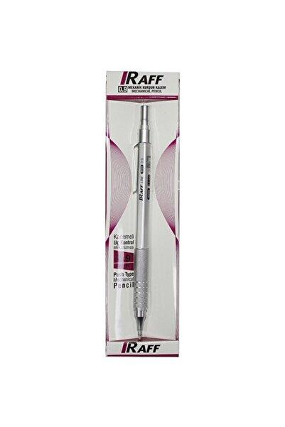 Raff 0.9mm Versatil Kalem Metal Gümüş Kutulu
