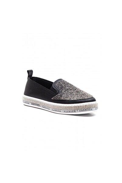 Markopark Kadın Siyah Ayakkabı 352