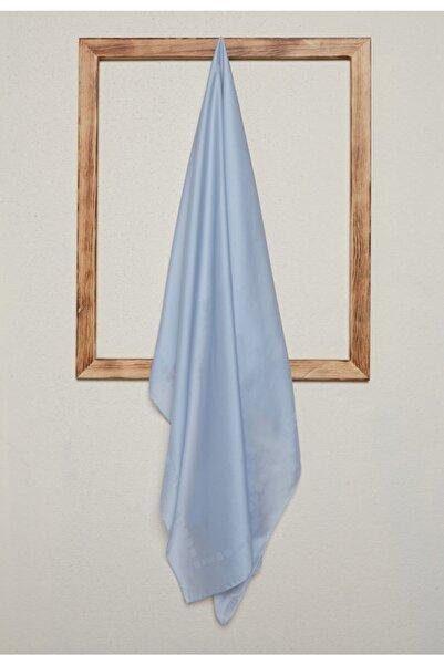 Setrms Kadın Gümüş Renk Desenli Eşarp