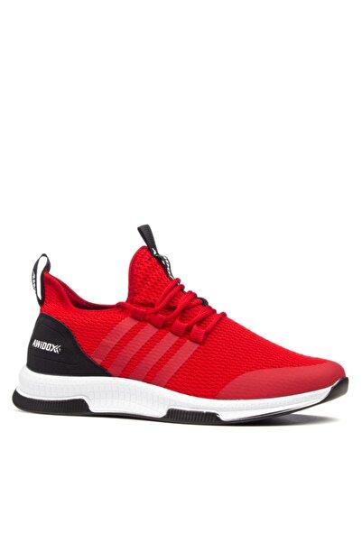 Awidox Unisex Kırmızı Ultra Esnek Sneaker Ayakkabı