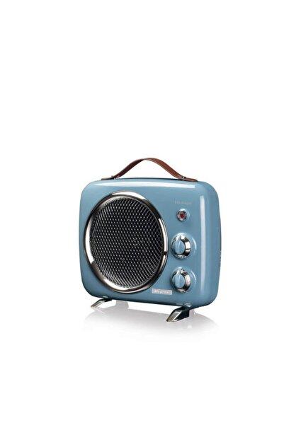 ARIETE Vintage Fanlı Isıtıcı Ve Soğutucu Mavi