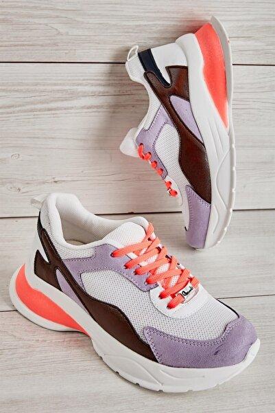 Bambi Lila Kadın Sneaker L0806200065