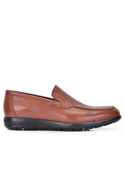 Nevzat Onay Hakiki Deri Taba Günlük Loafer Erkek Ayakkabı -11537-