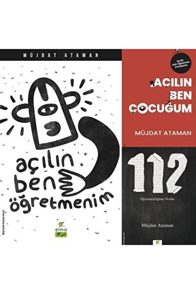 ELMA Yayınevi Açılın Ben Öğretmenim / Açılın Ben Çocuğum / 112 Öğretmenliğime Notlar Müjdat Ataman 3 Kitap Set