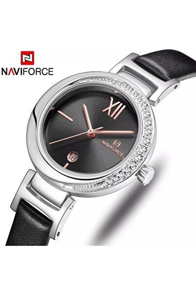 Naviforce Nf5007 Analog Deri Kordon Kadın Kol Saati