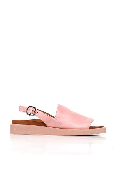 BUENO Shoes Hakiki Deri Kadın Düz Sandalet 20wq9101