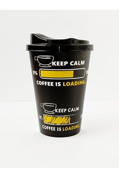 HOBBY LİFE Kahve Bardağı 450 ml Siyah-beyaz