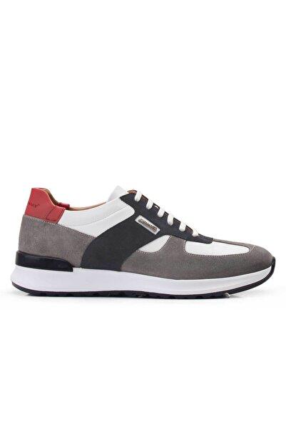 Nevzat Onay Hakiki Deri Vizon Sneaker Erkek Ayakkabı -11800-