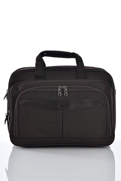 ÇÇS 71147 Laptop Bölmeli Körüklü Evrak Çantası Kahverengi
