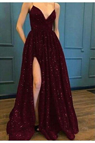 Trend Pulpayet Uzun Abiye Elbise