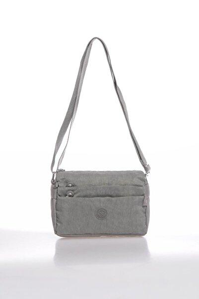 SMART BAGS Smbky1006-0078 Gri Kadın Çapraz Çanta