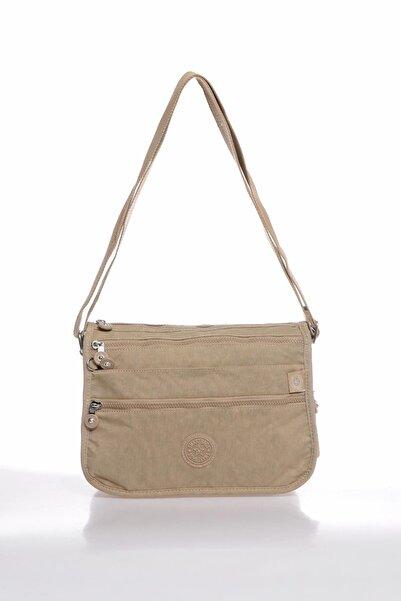 SMART BAGS Smbky1128-0015 Vizon Kadın Çapraz Çanta