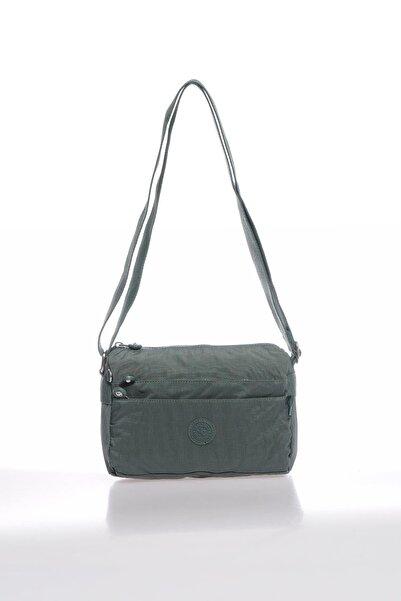 SMART BAGS Smbky1006-0005 Haki Kadın Çapraz Çanta