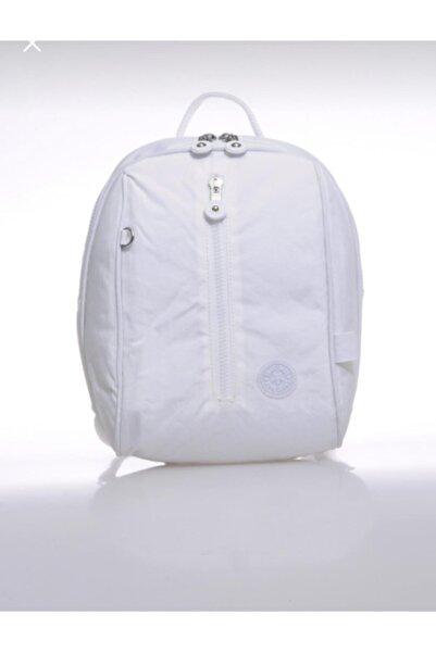SMART BAGS Kadın Beyaz Sırt Çantası Smb1233