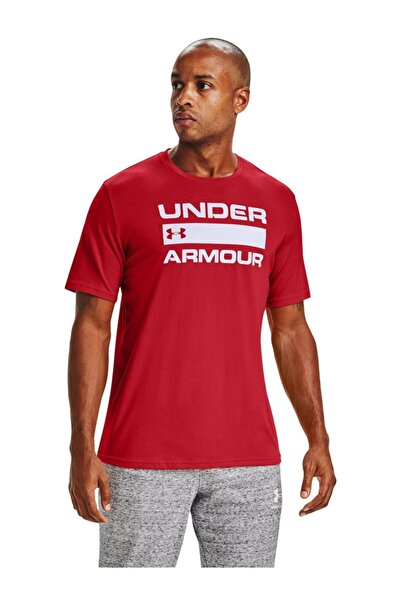 Under Armour Erkek Spor T-Shirt - Ua Team Issue Wordmark Ss - 1329582-608
