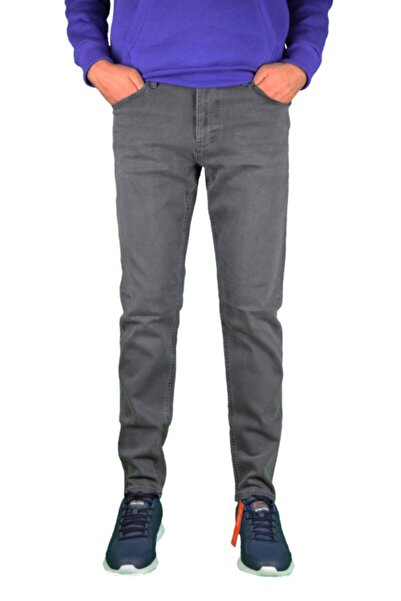 Loft Kül Rengi Slim Fit Pantolon
