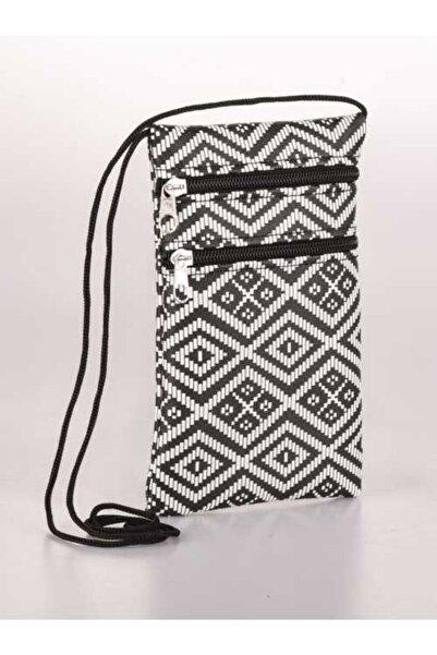 Sensai Kadın Boyundan Asmalı Telefon Bölmeli Çanta, Cüzdan & Kartlık