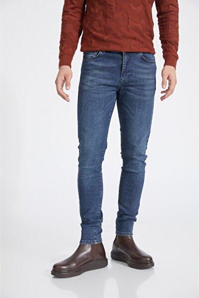 Avva Erkek Lacivert Skinny Fit Jean Pantolon A02y3523