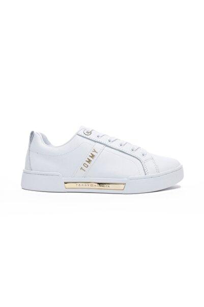 Tommy Hilfiger Branded Outsole Strappy Kadın Beyaz Spor Ayakkabı