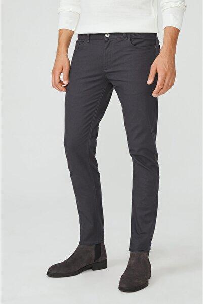 Avva Erkek Antrasit 5 Cepli Armürlü Slim Fit Pantolon A02y3056