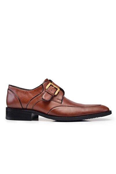 Nevzat Onay Hakiki Deri Taba Klasik Loafer Erkek Ayakkabı -10621-
