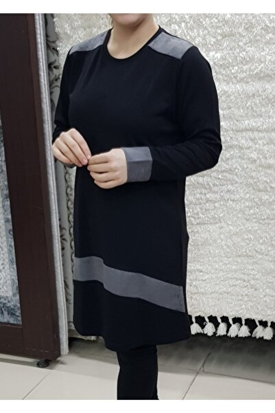 Elele Bayan Büyükbeden Triko Tesettür Tunik