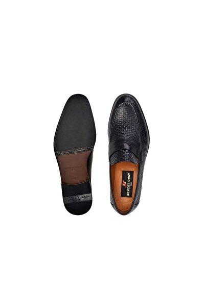 Nevzat Onay Hakiki Deri Siyah Günlük Loafer Neolit Erkek Ayakkabı -11163-
