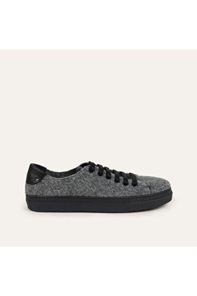 Mudo Bağcıklı Keçe Sneaker