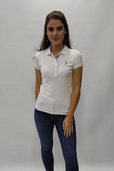 U.S. Polo Assn. Us Polo Assn. Kadın Basic Yakalı Tshırt