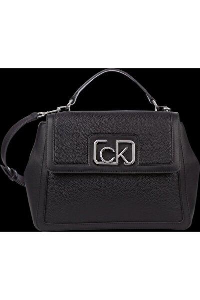 Calvin Klein Kadın Siyah Singanture Mini Omuz Çantası